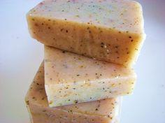 SOAP SALE 25 percent off Organic Citrus Basil Soap by DeShawnMarie, $4.13