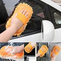 Wash and Dry 2-in-1 Multipurpose Microfibre High Performance Cleaning Sponge For Home Kitchen Car Bike Vehicle Washing Cleaning Shining | Sponges Sponges Cloths and Brushes Car and Motorbike Car and Motorbike Care | Best news and deals!