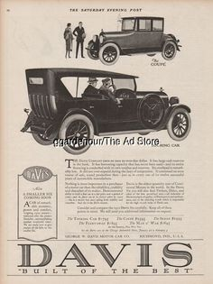 1923 Maxwell Motor Corp Detroit Mi Coupe Antique Car