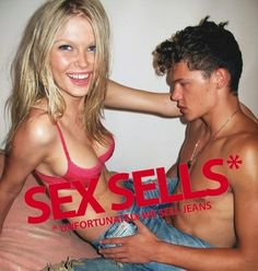 This 'Sex Sells' ad campaign for Diesel Denim, in one of the many controversial ads that Diesel is known for. Diesel has had a reputation for pushing the limits on their ad campaigns and have even had some ads banned.     http://www.thesun.co.uk/sol/homepage/news/3035664/Banned-Diesel-ads-too-sexy.html