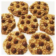 No sugar oatmeal banana cookies