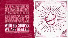 Verse of the Day from Logos.com    이사야 53:5, 그가 찔림은 우리의 허물 때문이요, 그가 상함은 우리의 죄악 때문이라. 그가 징계를 받으므로 우리는 평화를 누리고, 그가 채찍에 맞으므로 우리는 나음을 받았도다.