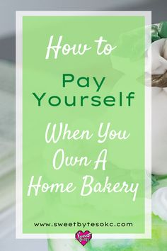Learning how to pay yourself when you own a home bakery is how you grow a successful baking business. When you pay yourself fairly for the work you do, you feel happy to do the work. Your small bakery will be in a position be successful for years to come. #homebakery #homebakingbusiness Home Bakery Business, Baking Business, Cake Business, Feeling Happy, How Are You Feeling, Small Bakery, Take You Home, Work On Yourself, Madness