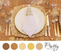 Champagne Wedding Colors: Pretty Palettes #17