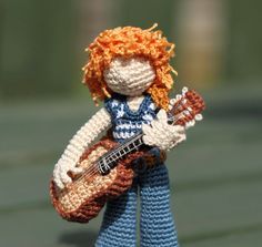My little guitarist