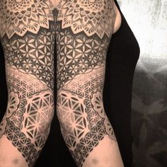 23 Fine Geometric Dotwork Tattoos By Akke …