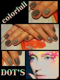 #colorfull #dots #fashion #funny #nailtutorial #happyhands #2016 #laimingosrankos # didierlab #no46 #no2 #no53 #no44 #43