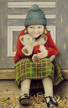 """""""Just Between Friends"""" Carla Crawford St John's Canada, Newfoundland And Labrador, Bear Art, Doodle Drawings, Local Artists, Limited Edition Prints, Artist Painting, Kids Playing, Cute Kids"""