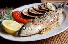 peixe no prato