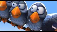 Disney Pixar ~ For the Birds ~ original, via YouTube.  Inferring Bullying