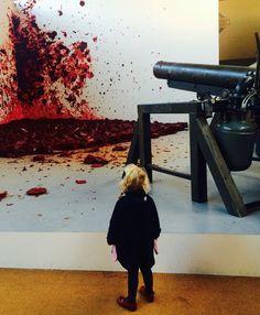 "ANISH KAPOOR ""Shooting into the corner"" 2015 Installation at Château de Versailles France #Kapoor #Versailles #CLLC ©CatherineLaurent"