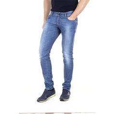 Denim Waist 32 - Length 30 - INT. M Diesel mens jeans SLEENKER 0664G L.30