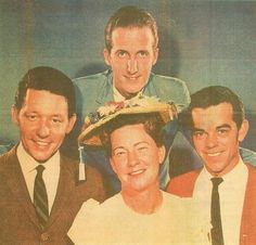 Bobby Lord, Minnie Pearl, Roy Drusky & George Hamilton IV (back) Country Western Singers, Country Artists, Best Country Music, Country Music Stars, George Hamilton Iv, Classic Singers, Kinds Of Music, Cannon, Old And New