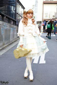 Madoka, 21 years old   18 February 2014   #Fashion #Harajuku (原宿) #Shibuya (渋谷) #Tokyo (東京) #Japan (日本)