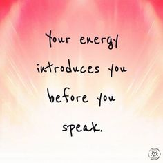 How are you introducing yourself energetically? #SocialSaturday: Your energy is contagious, make sure that's a good thing. Be an example of the standard you expect in others. Those who want to live on that same level will meet you there. Trust, deeply, that the people who belong in your life will come find you, and stay. Your vibe attracts your tribe. ________________________________ Click the link in our bio to get #ProjectHappiness FREE daily tips and inspiration sent directly to your ...