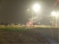 Nuevo semáforo en cerro de basura