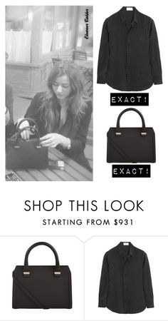 """""""Eleanor Calder"""" by bpstealtheircloset ❤ liked on Polyvore featuring Victoria Beckham and Yves Saint Laurent"""