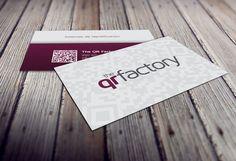 Diseño de tarjetas de visita The QR Factory | Dolphin Tecnologías