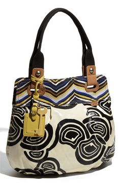 Fossil 'Key-Per' Printed Coated Canvas Shopper #Nordstrom