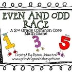 FREE! Even and Odd Race is a great game to practice identifying even and odd numbers higher than 100.  The game includes:~ 9 hundred chart number boa...