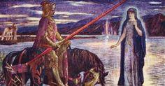 (adsbygoogle = window.adsbygoogle    []).push();   Ha sido descubierta una espada por una niña de siete años que se estaba bañando cerca de la orilla del estanque Dozmary de Cornualles, Inglaterra. La tradición local asegura que éste fue precisamente el lago al que fue arrojada la...