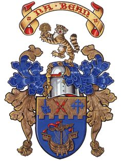 Arms of Mark Francis Macpherson