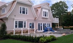 Back of Dream House by Georgica Builders