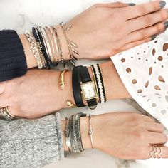 Stack your style! Which arm party is your fave?