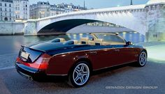 The Vision Mercedes Benz Maybach Cabrio 6 Cabriolet is an Ultra-Luxurious Electric Car that looks awesome. Should be a fun can to drive. Mercedes Benz Maybach, Maybach Car, Mercedes Car, Benz Car, Ferrari Car, 1959 Cadillac, Cadillac Cts, Supercars, Cadillac Eldorado