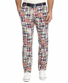 I feel the need to get some Madras pants.