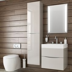 Create an organised bathroom with our range of stylish storage solutions