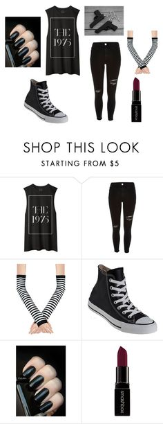 """""""Untitled #171"""" by peace-girl23 on Polyvore featuring River Island, Converse, Smashbox, women's clothing, women, female, woman, misses and juniors"""