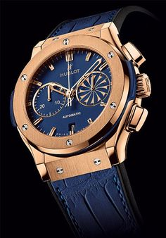 HUBLOT Mykonos 2013 Classic Fusion Chronograph in Rose Gold.