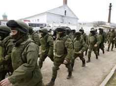 Russia shipped more troops and armour into Crimea on Friday and repeated its threat to invade other parts of Ukraine, showing no sign of listening to Western pleas to back off from the worst confrontation since the Cold War. Military Jacket, Make My Day, Evil People, Guys Be Like, New World Order, Cristiano, Syria