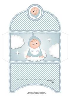 A Gift From Heaven Boy Baby Money Wallet on Craftsuprint designed by Janet Roberts - New baby money wallet or gift voucher holder. There is also a matching rocker style card in this range.See link below - Now available for download!