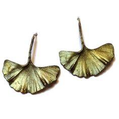Silver Seasons - Michael Michaud - Gingko Earrings