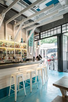 Decoration Restaurant, Restaurant Themes, Seafood Restaurant, House Restaurant, Pub Decor, Modern Restaurant, Coffee Shop Design, Cafe Design, Restaurant Interior Design