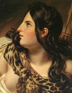 Diana - ANNE-LOUIS GIRODET DE ROUSSY-TRIOSON.