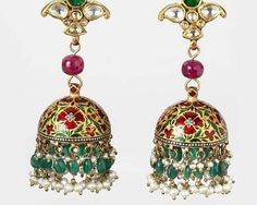 Indian jumki earrings