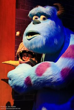 Sulley and Boo, Monster Inc. // Sulley e Boo, Monstros S.A.
