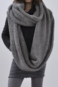 bowie loop scarf from humanoid.