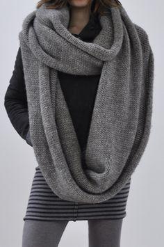 bowie loop scarf.