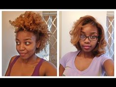 Tutorial | Straightening Natural Hair 3c / 4a