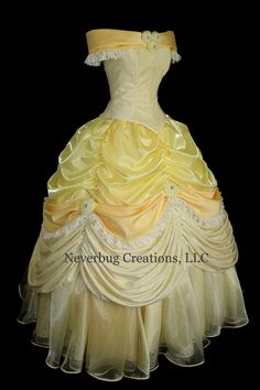 Adult Beauty and the Beast New Parks Costume by NeverbugCreations