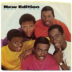 Cool It Now b/w Cool It New (Sing Along Version) New Edition, MCA Records (1984)