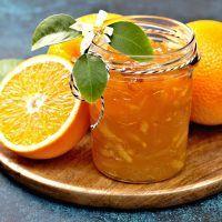 Recept : Pomerančová marmeláda s kapkou rumu | ReceptyOnLine.cz - kuchařka, recepty a inspirace Marmalade, Rum, Cantaloupe, Spices, Pizza, Orange, Cooking, Food, Lemon
