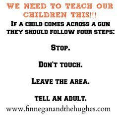 Teaching our Children about Gun Safety #gunsense #momsdemandaction