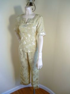 vintage pajamas womens lingerie Size 4-6 japanese von stilettoRANCH