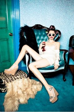 ELLEN VON UNWERTH: Do Not Disturb | Wonderland Magazine