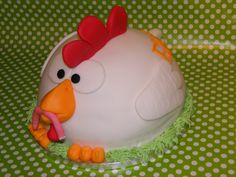 Giant chicken cake